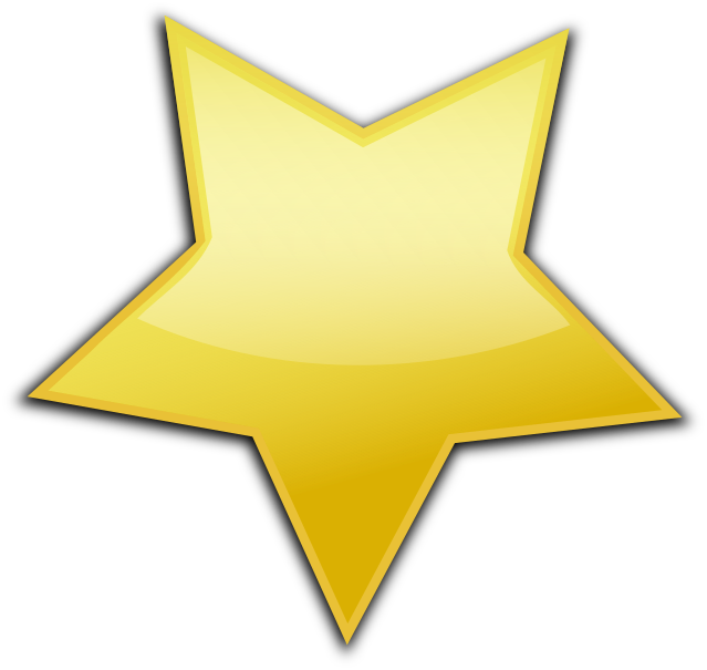 Gold Star large - /education/gold_stars/more_stars/Gold ...