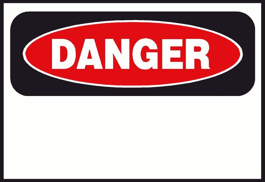 Danger Education Signs Danger Png Html
