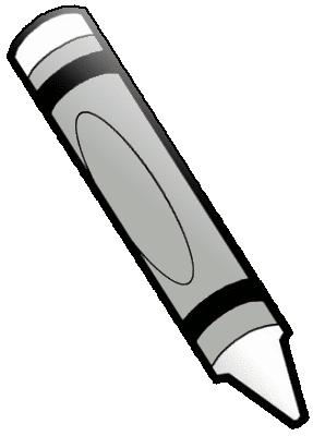 crayon white - /educat...