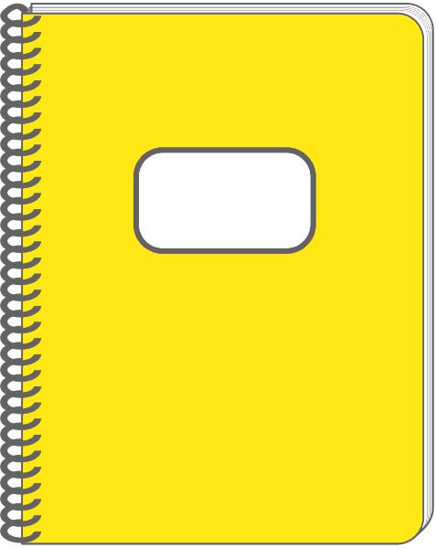 Spiral notebook yellow education supplies notebook spiral_notebook_yellow png html
