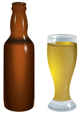 Beer Bottle And Glass Food Beverages Alcohol Beer More