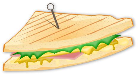 Sandwich Food Meals Sandwich Sandwich Png Html