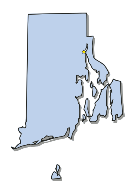 Rhode Island Map With Capital