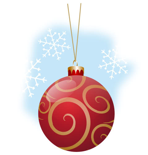 christmas ball red - /holiday/Christmas/ornaments/tree ...
