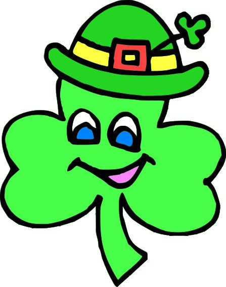 shamrock cartoon 3   holiday  saint patricks day  shamrock picture day clip art image picture day clip art school