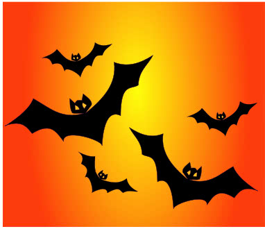 bats orange background   holiday  halloween  bat  more bats halloween bat clipart 101 free clipart images halloween bat clip art pictures