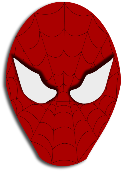 spidey mask   holiday  halloween  costumes  masks  spidey halloween clipart black and white halloween cliparts