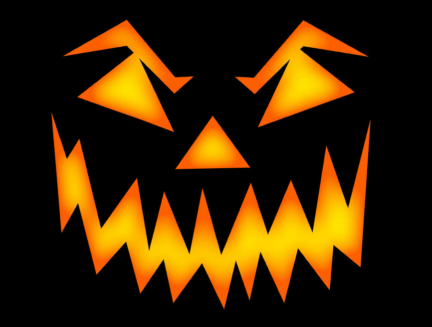 scary halloween face   holiday  halloween  pumpkin  pumpkins scary clip art free scary clip art vines