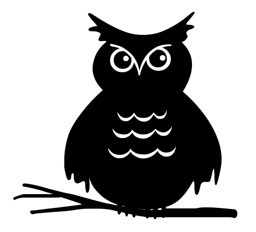 owl staring   holiday  halloween  spooky scenes  owl  owl halloween clip art images halloween clipart black and white