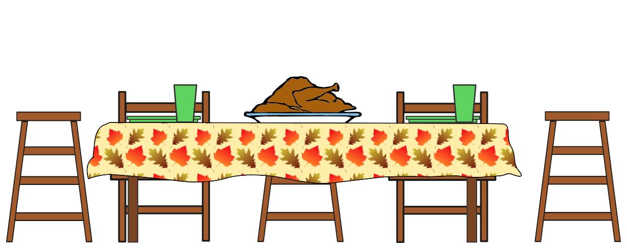 Turkey Dinner Table Holiday Thanksgiving Turkey 3