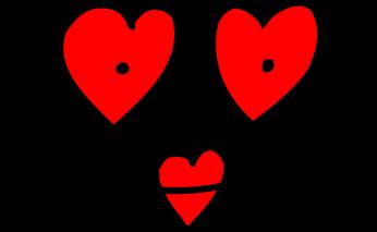 valentine heart eyes lips   holiday  valentines  valentine clip art of heart shape clip art of heart shape