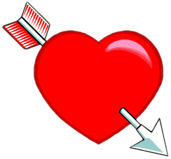 heart with arrow   holiday  valentines  valentine hearts valentine clip art friend valentine clip art hearts