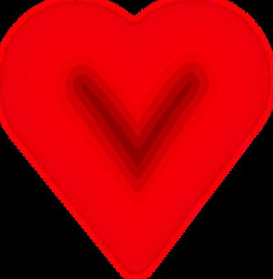 Soft Layered Heart Holidayvalentinesvalentinehearts