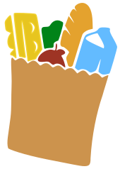 grocery bag icon - /household/chores/grocery_shopping ...