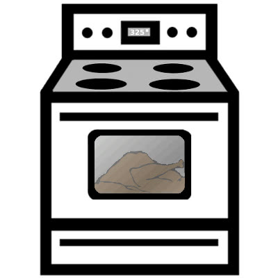 oven with turkey - /ho...