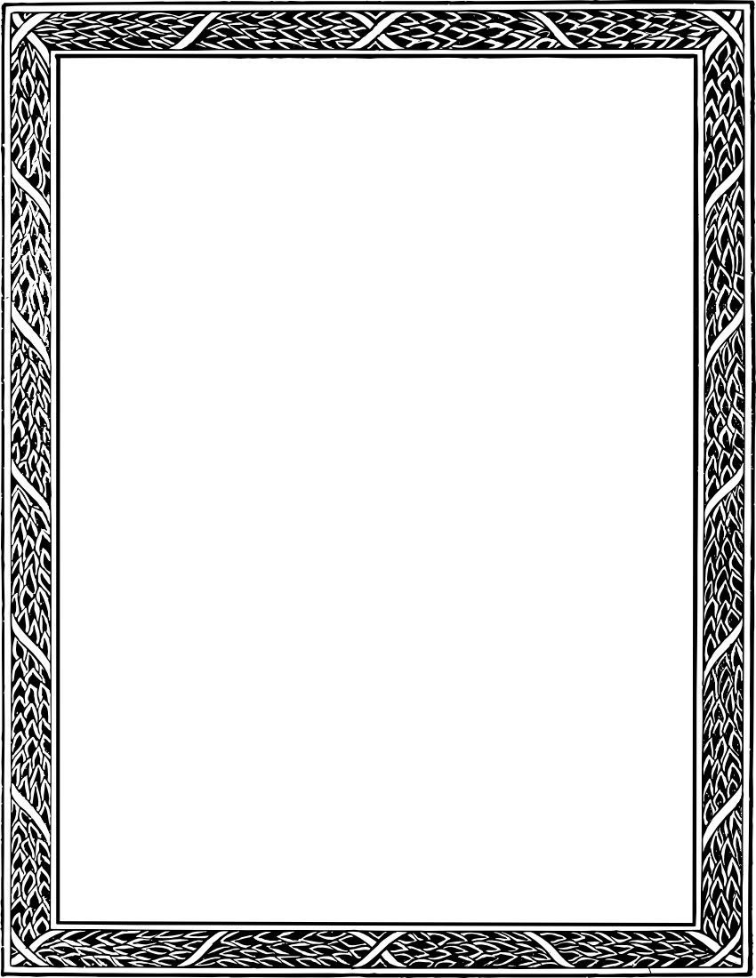 leafy frame bw   page frames  floral  leaves  leafy frame bw leaves border clipart black and white ivy leaves border clip art