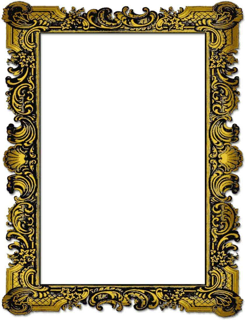 old picture frame page   page frames  picture frames  old clip art picture frame borders clip art picture frames free