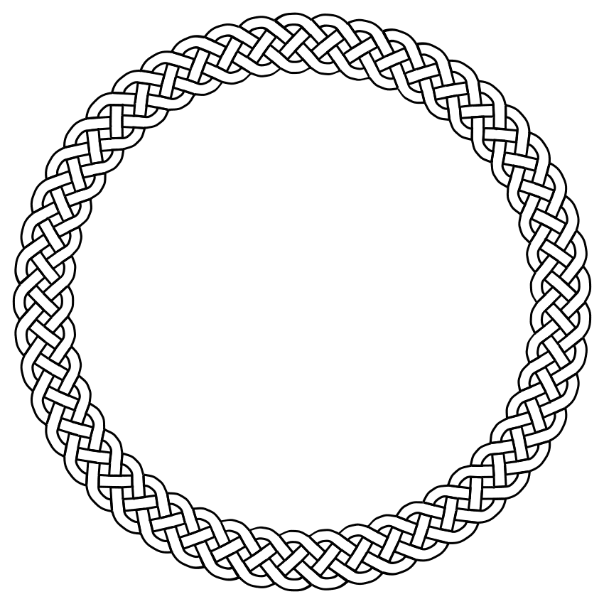 clipart rope border circle - photo #47