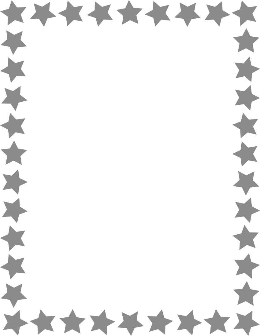 star frame gray - /page_frames/star_border/star_frame_gray