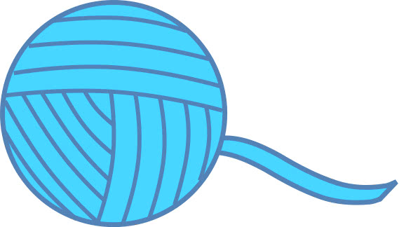 ball of yarn blue   recreation  miscellaneous  ball of yarn yarn clip art images yarn clip art images