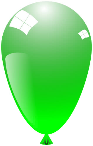 balloon shiny bright green   recreation  party  glossy clipart of balloons with aka written on them clip art of balloons and flowers