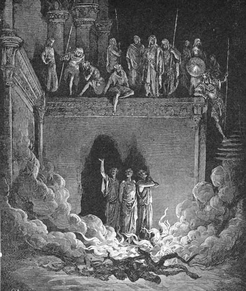 in the fiery furnace  religion mythology  bible  childs