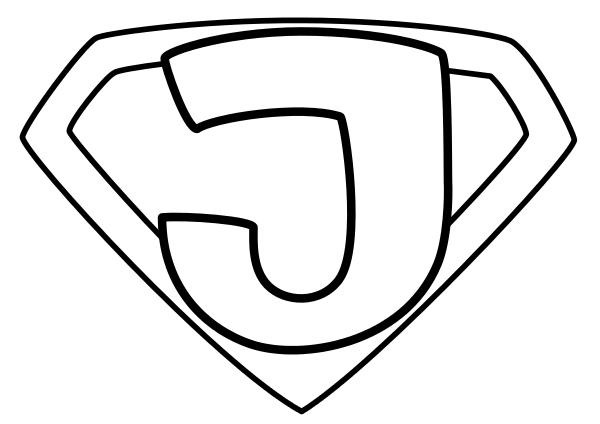 Super Jesus Outline Religion Mythology Symbols Super