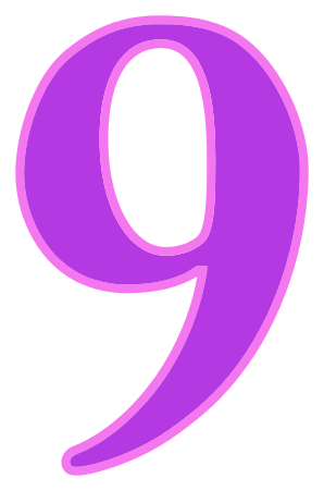 Number_9_purple.png on Color By Number