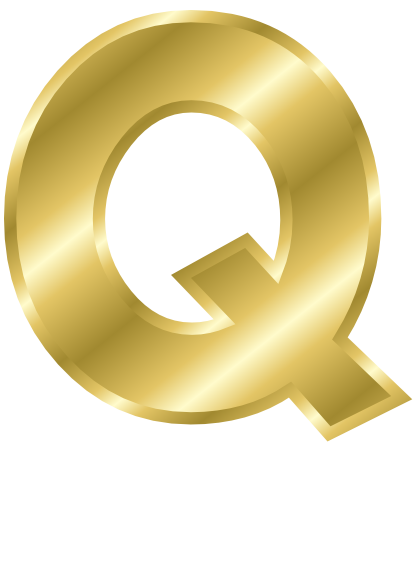gold letter capitol q  signs symbol  alphabets numbers