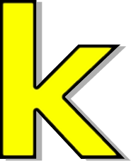 lowercase k yellow   signs symbol  alphabets numbers letter c clipart cow letter c clipart pattern