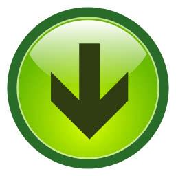 button arrow green down - /signs_symbol/arrows/round ...