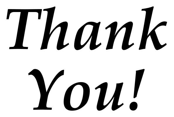 Thank You note script solid - /signs_symbol/words/thank_you/Thank_You ...