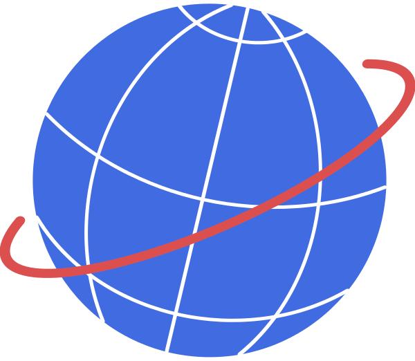 globe orbit   space  diagrams  globe orbit png html space clip art for preschoolers space clipart images
