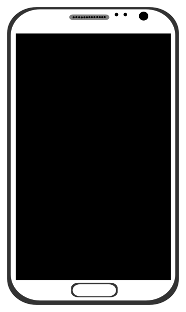 smart phone outline   telephone  cell phones  smartphone bw cell phone clipart images cell phone images clipart