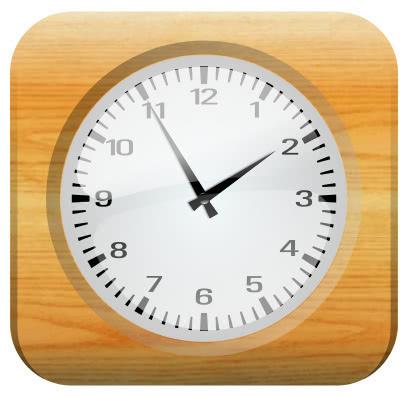 clock wood frame