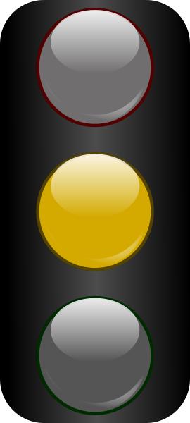 traffic light glossy yellow   travel  traffic lights travel clip art free travel clipart pic