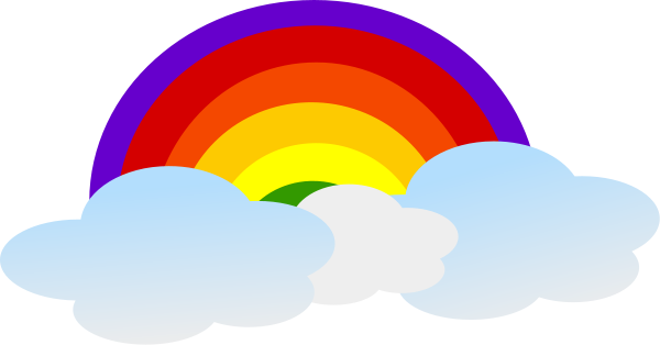 rainbow with clouds - /weather/rainbow/rainbow_with_clouds.png.html