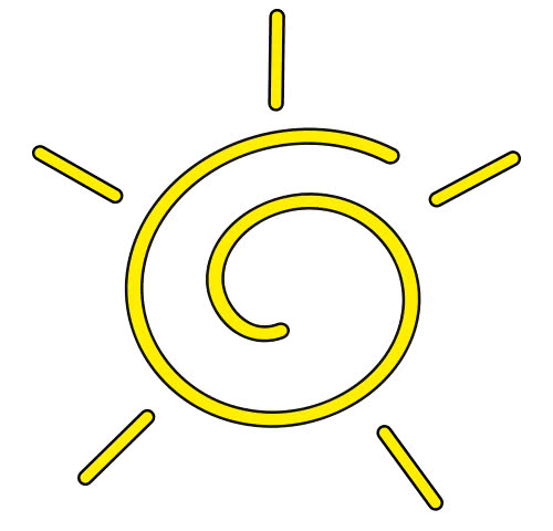 bright abstract sun - /weather/sun/bright_abstract_sun.png ...