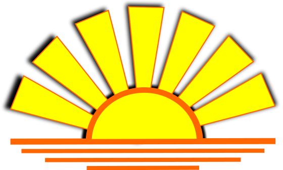 sunset graphic   weather  sun  sunrise sunset  sunset the sun clipart images of the sun clipart