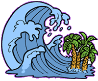 tsunami wave   weather  weather scenes  infamous weather waves clipart images wave clipart transparent