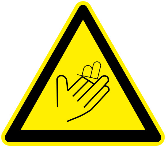 Cutting Working Signs Hazard Sign Triangles Cutting Png