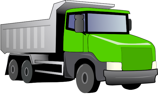 dump truck green - /working/vehicles/dump_truck/dump_truck ...