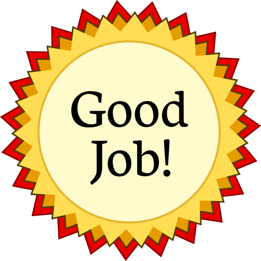 Good job certificate robertottni good job certificate yadclub Gallery