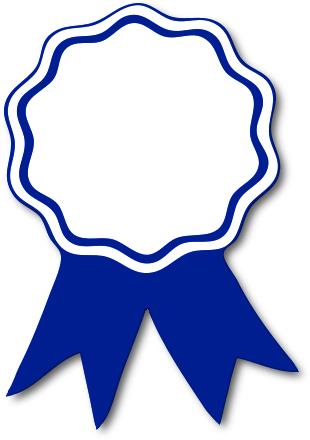 Award Ribbon Blue Education Awards Award Ribbon Blue