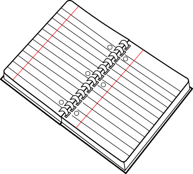 Spiral Notebook Png Pngt-pngsvgwebpjpg