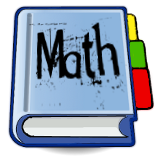 notebook tabs blue math