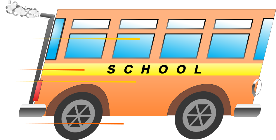 fast school bus isolated - /education/bus/fast_school_bus_isolated.png ...