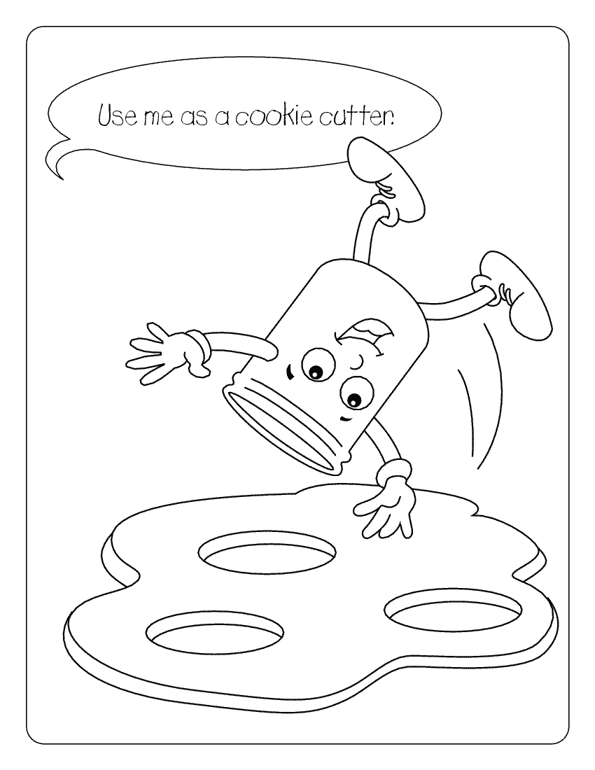 Free Coloring Pages Of Jar Of Jelly