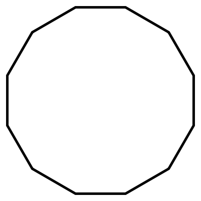 Dodecagon Shape 12 Sides The gallery for -->...