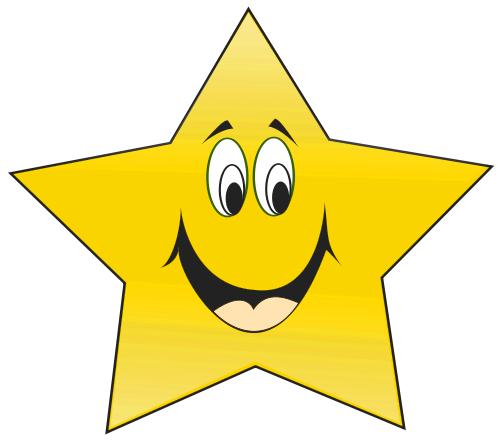 happy star clip art - photo #9